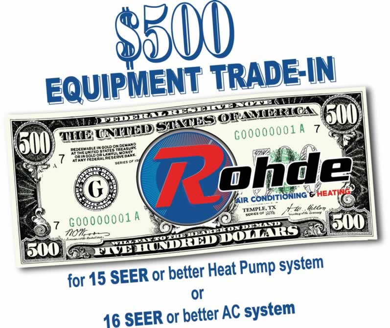 Rohde AC and Heating Specials & Offers